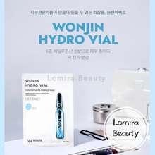 Wonjin Effect Hydro Vial Concentrated Essence Mask (10 Pcs) • Wonjin 原辰透明质酸安瓶补水面膜•