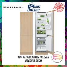 Fisher & Paykel INTEGRATED REFRIGERATOR FREEZER 60CM RB60V18