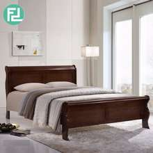 Furniture Direct Florida Solid Wood Queen Size Bed Frame-Black Cherry/ Katil Kayu/ Kati Kayu Queen