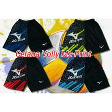 Mizuno Celana volley ball motif printing murah c838bd1d49