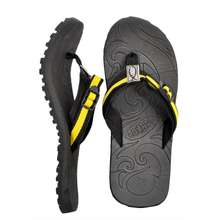 80b58af09 SALE. Lambat Footwear Lambat Double Strap Slippers for Men (Yellow)