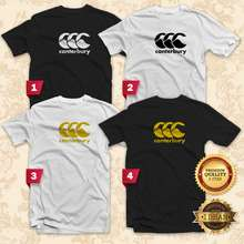 Canterbury Tshirt Men / Women Unisex Tee Casual Sport Brand - Idean Style S150