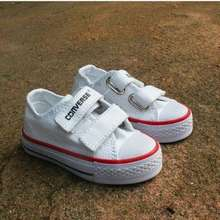 Converse sepatu anak kids putih perekat tali pendek tinggi a29b65f6a9