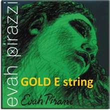 Pirastro Evah Pirazzi Violin String full set 4/4 with Gold E