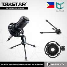 Takstar Pc-K320/Pck320 Condenser Side-Address Microphone Professional For Broadcasting Microphone
