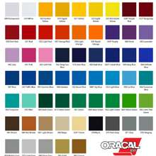 Oracal 651 Permanent Vinyl Sticker Roll 1Ft X 10Ft/20Ft (Made In Usa)