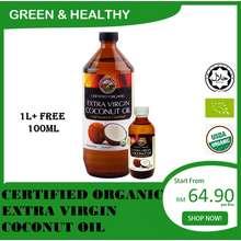 Country Farm Organic Country Farm Extra Virgin Coconut Oil 1L + FREE 100mL