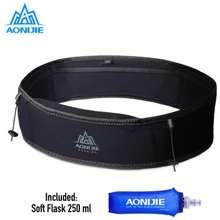 Aonijie Waist Bag W938S Tas Pinggang 1 Soft Flask 250 Ml Black Ml