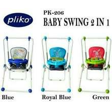 pliko Ayunan bayi baby swing Pk 206