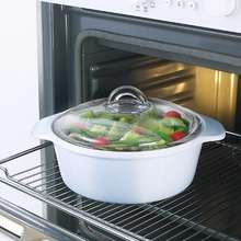 "Luminarc ""Vitro Direct to fire gas or stove, oven microwave and freezer safe Glass"