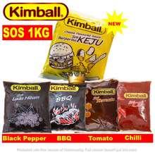 Kimball Sos Cili | Cheese | Lada Hitam | Tomato | Bbq | Tiram Keju Sauce Refill Pack 1Kg For Cooking