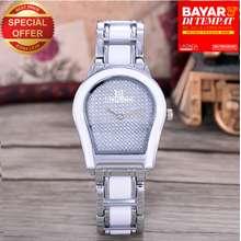 Bonico Jam Tangan Wanita – Body Silver/white – Silver Dial – Silver white Imitation