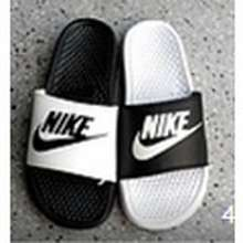 Nike Sb Two Colors Red & Black Home Shoes Breathable Couple Sandals