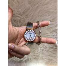 Charriol Jam Tangan Lady Gelang Rantai Kawat Super Premium Fashion Wanita