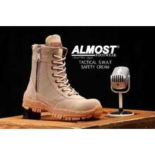 Almost SEPATU BOOTS TACTICAL PRIA SAFETY