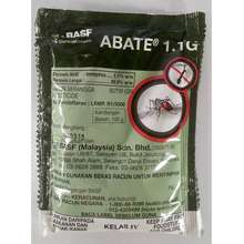 Basf Abate 1.1G (100G/Pack) Mosquito Larva Ubat Jentik-Jentik, Aedes, Denggi Larva