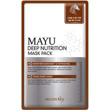 Secret Key [] Mayu Deep Nutrition Mask Pack 10ea