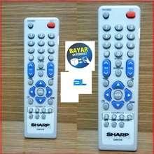 SALE Sharp Remote TV Tabung Flat - Putih