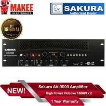 Sakura Av-9000 High Power Videoke Amplifier 1800W X2