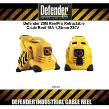 Defender Reelpro Retractable Cable Reel 20M