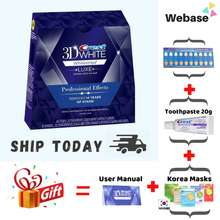 Crest 💖 3D Whitestrips Professional Effects【Free Toothpaste + Free Gift】