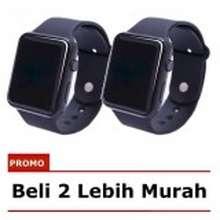 LED 1 Pasang Jam Tangan - Jam Tangan Couple Pria dan Wanita - Strap Karet - e8049b23a2