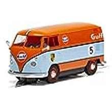 Volkswagen Scalextric Volkswagen Panel Van Gulf Livery 1:32 Slot Race Car C4060