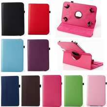 Asus Vivotab Smart Me400C/Me400Cl(10.1-Inch)Simple Flip Cover Rotating Protective Shell Personality Bracket Anti-Falling Leather Case