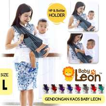 baby_leon BABY LEON GENDONGAN Bayi Kaos/Geos/selendang Bayi Praktis BY 44 GB Polos