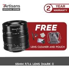 7Artisans Photoelectric 55Mm F1.4 Prime Aps-C Manual Focus Lens (Fujifilm X)