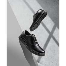 Jack Sepatu Pria Sepatu Pantofel Pria Sepatu Formal Kulit Kerja Kantor Hitam Original - Brave Black