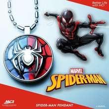 Marvel Kalung Kesehatan Pendant MARVEL SPIDERMAN - MCI (100% Original)