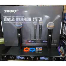 Shure Digital Wireless Microphone Metal Type/High Sound Quality/Tested Before Ship Out