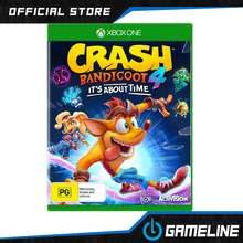 Xbox One XBox1 Crash Bandicoot 4 Its About Time