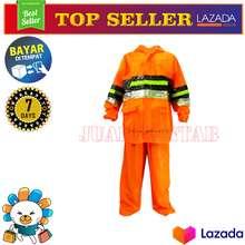 Tiger Head Elmondo Jas Hujan Setelan Flash - Raincoat Dewasa Jaket Celana Pria Wanita Murah -