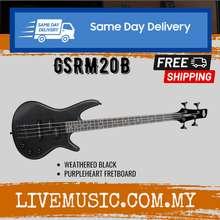 Ibanez Gsrm20B Mikro Solid Body Bass Guitar Rosewood Fretboard - Weathered Black (Gsrm-20B/Gsrm20B-Wk)