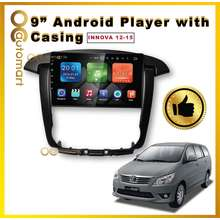 OCA 9 Inch IPS SCREEN ANDROID PLAYER WITH CASING Toyota Innova 2012-2015