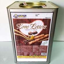 Julie's Julies Love Letter Assorted Tin Biscuit Chocolate Peanut Butter Cheese Crackers Kuih Belanda Krim Coklat Wafer