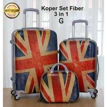 Universal Tas Koper Fiber Painting 4Roda hanya ukuran 24inci /Tas Koper Hanya Ukuran Besar/Tas Koper Traveling/Tas Koper Terbaru