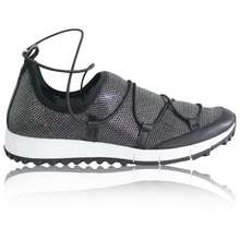 15658981f9b0 JIMMY CHOO Black And Silver Sneakers