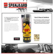 Spanjaard Spark Lubricating Spray 500ml Penetrating Spray Non Flammable Penetrating Spray Non Flammable Lubricating Spray Metal Protectant Spray Water Disperse Spray Rust Remover Rust Protectant Metal Protector Waterproof Lubricant Spray