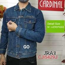 Cardinal Gof Jra Jaket Jeans Cowok Outwerwear Pria Outdoor Jaket Cowok Bagus