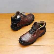 Spartan - sepatu safety pria slip on warna Hitam (EU:39)