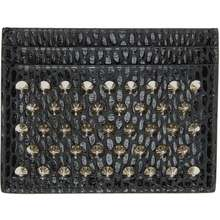 Christian Louboutin Black Kios Card Holder