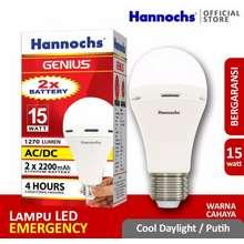 Genius lampu led hannoch 15w ac dc