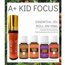 Young Living A+ Kids Focus Roll-On Yl Essential Oil 10Ml/Therapeutic Oil