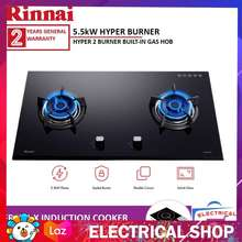 Rinnai Rb 92g Built In Gas Hob Flexible Cut Out Free Induction Cooker