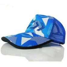 8b493f2a876dc Daiwa MESH HAT COLOUR BLUE RED BLACK