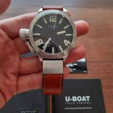 U-Boat Uboat Classico 45 Date Black Dial Original
