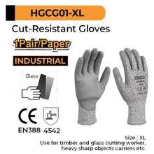 Ingco Sarung Tangan Anti Potong Anti Sayat Cut Resistant Gloves Hgcg01